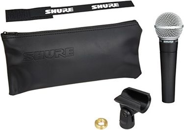 Shure SM58-LC (without cable) Microphone Price in India
