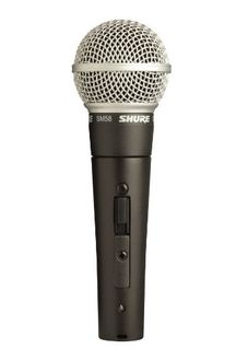 Shure SM58S (without cable) Microphone Price in India