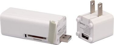 iFans EL-PB-17 3000mAh 3 in 1 Power Bank(AC Adapter with SD/TF Card Reader) Price in India