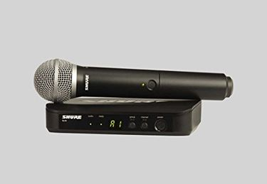 Shure BLX24/PG58 Microphone Price in India