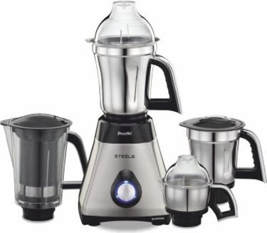 Preethi Steele Supreme MG208 750W Juicer Mixer Grinder Price in India
