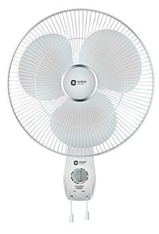 Orient Snowfall-16WB01 3 Blade (400mm) Wall Fan Price in India