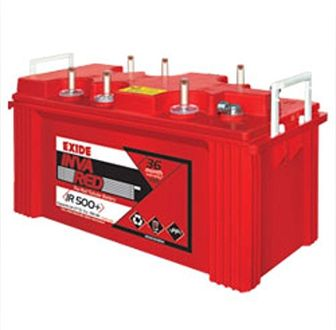 Exide Inva Red 500+ 150AH Battery Price in India