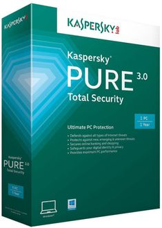 Kaspersky Pure 3.0 Total Security 2014 1 PC 1 Year Price in India