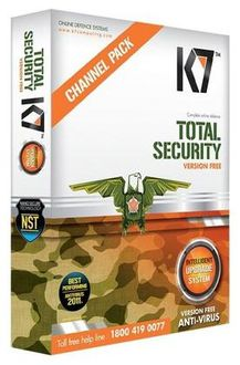 K7 Total Security Version Free 5 PC 1 Year Price in India