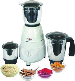 Kenstar Super (KMU50W3S-DBF) 500W Mixer Grinder Price in India