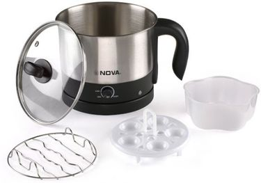 Nova NKT-2729 1.2 Litre Multifunction Electric Kettle Price in India