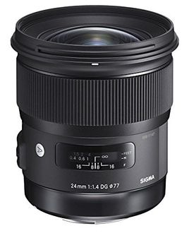 Sigma 24mm F1.4 DG HSM Wide Angle Art Lens(For Canon, Nikon,Sony) Price in India
