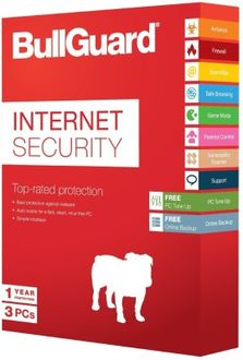 Bullguard Internet Security 3 PC 1Year Price in India