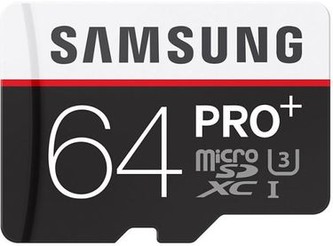 Samsung PRO Plus MB-MD64D 64GB MicroSDXC Class 10 Memory Card (With Adapter) Price in India