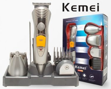 Kemei KM-580A 7 in 1 Rechargeable Grooming Kit Trimmer Price in India