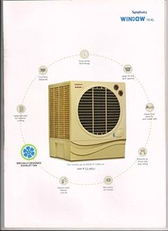 Symphony Window 70 XL Desert 70L Air Cooler Price in India