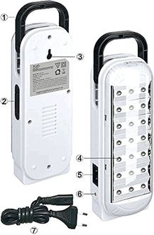 DP 713 LED Emergency Light Price in India