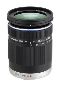 Olympus M.ZUIKO Digital ED 14-150mm f/4.0-5.6 II Lens Price in India