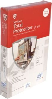 McAfee Total Protection 2015 1 PC 3 Year Antivirus Price in India