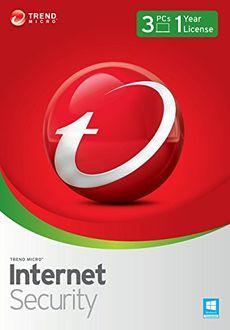 Trendmicro Internet Security 2015 3 PC 1 Year Antivirus Price in India