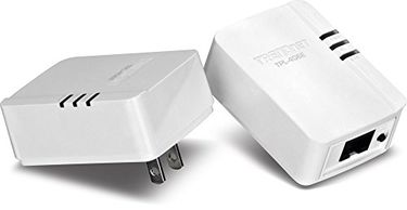 TRENDnet (TPL-406E2K) 500 Mbps Compact Powerline Ethernet Adapter Price in India