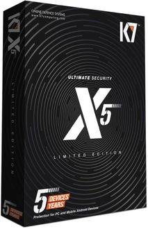 K7 Ultimate Security (X5) 5Users 5Years Price in India