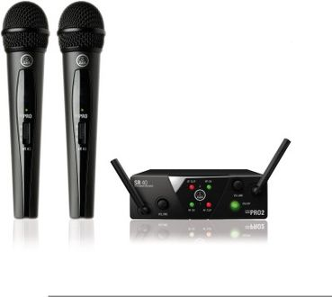AKG WMS 40 Mini2 Dual Wireless Microphone Price in India