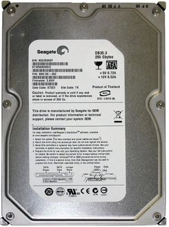 Seagate Barracuda (ST3250820SCE) 250GB PC Internal Hard Drive Price in India