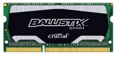 Crucial Ballistix Sport SODIMM 8GB DDR3 Ram Price in India