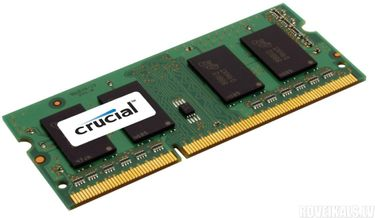 Crucial (CT25664BF160B) PC3-12800 2GB SODIMM DDR3 Ram Price in India