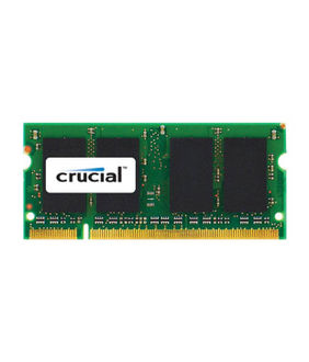 Crucial (CT4G3S1339MCEU) 4GB PC3-10600 SODIMM  DDR3 Ram Price in India