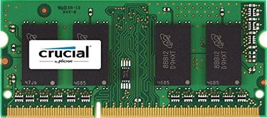 Crucial (CT8G3S1339M) PC3-10600 8GB DDR3 SODIMM RAM Price in India