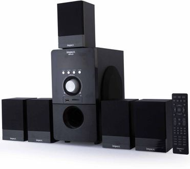 Impex Bravo 5.1 Multimedia Speaker System Price in India