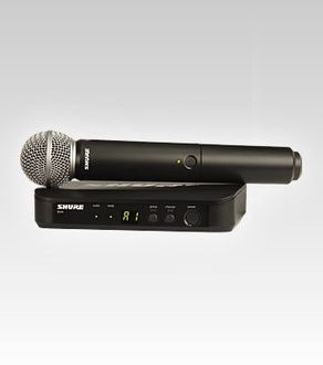 Shure BLX24/SM58 Wireless Microphone Price in India