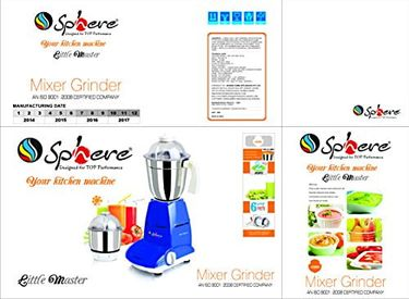 Sphere Little Master Mixer Grinder Price in India