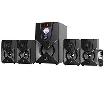 Zebronics SW-3491RUCF 4.1 Multimedia Speaker System Price in India