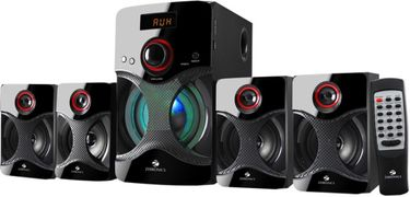 Zebronics BT4440RUCF 4.1 Multimedia Speaker System Price in India