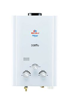 Bajaj Majesty Duetto (PNG /LPG) 6 Litre Gas Water Geyser Price in India