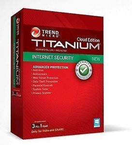 Trend Micro Internet Security 2013 3PC 1Year Price in India