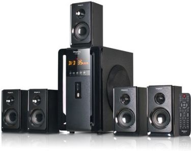 Impex Fusion 5.1 Multimedia Speaker System Price in India
