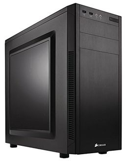 Corsair Carbide 100R CC-9011075-WW Steel ATX Mid Tower Cabinet Price in India