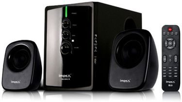 Impex Musik R 2.1 Multimedia Speaker System Price in India