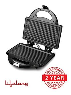 Lifelong Grill-It 115 4 Slice Sandwich Maker Price in India
