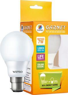 Wipro Garnet 7W LED Bulb Price in India