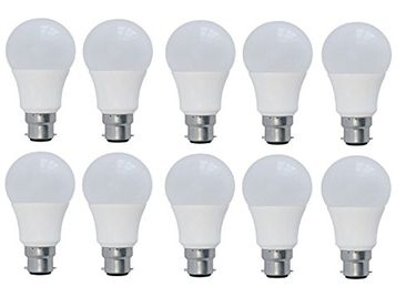 Syska 9W LED Bulb (White, Pack of 10) Price in India