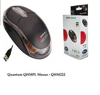 Quantum QHM 222 USB Mouse Price in India