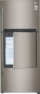 LG GC-D432HLAM 426 L 2 Star Door In Door Refrigerator (Shiny Steel) Price in India
