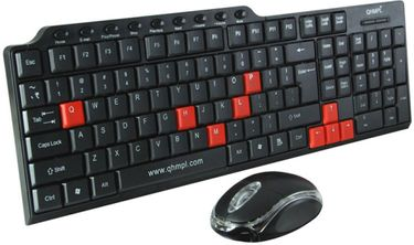 Quantum QHM 8810 USB Keyboard & Mouse Combo Price in India