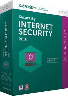 Kaspersky Internet Security 2016 3 PC 1 Year Price in India