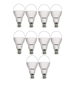 Eveready 14W LED Bulbs (White, Pack of 10) Price in India