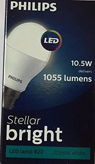 Philips Stellar Bright 10.5W LED Bulb (Cool Day Light) Price in India