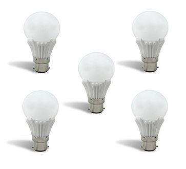 Syska 10W LED Bulb (White, Pack of 5) Price in India