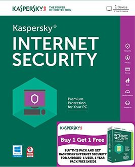 Kaspersky Internet Security 2016 1 PC 1 Year Price in India