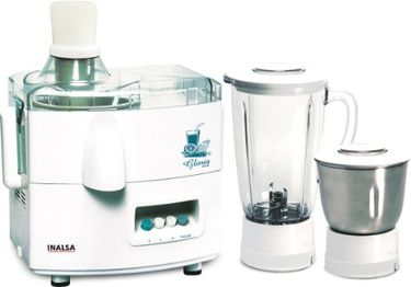 Inalsa Gloria 450W Juicer Mixer Grinder Price in India